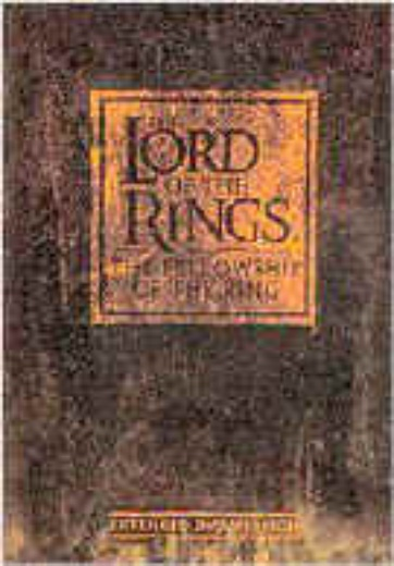 Lord of the Rings, The: The Fellowship of the Ring (4 disc) cover