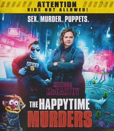 Happytime Murders, The cover