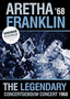 Aretha Franklin - The Legendary Concertgebouw Concert 1968 op DVD