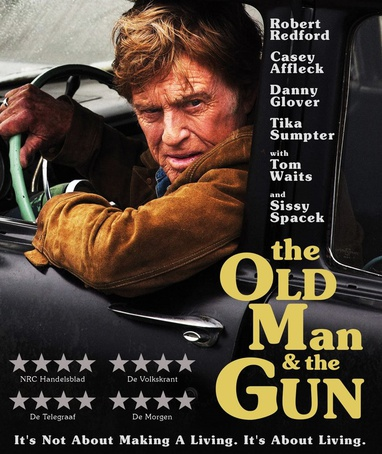 Old Man & the Gun, The cover