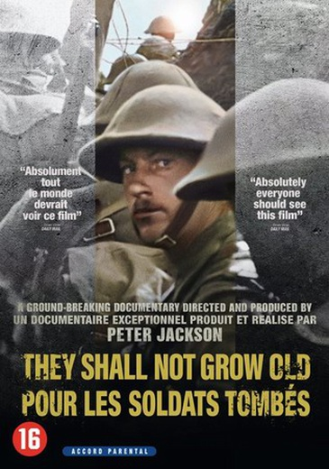 They Shall Not Grow Old cover