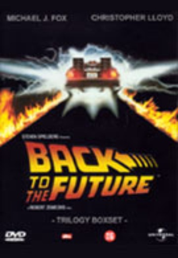 Back To The Future - Trilogy Boxset cover