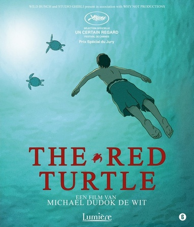 Red Turtle, The cover