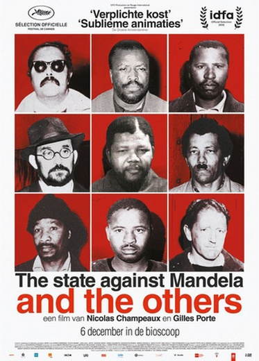 State Against Mandela And The Others, The cover