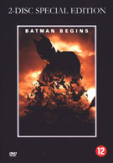 Batman Begins (SE) cover