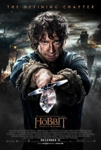 The Hobbit - The Battle of the Five Armies cover