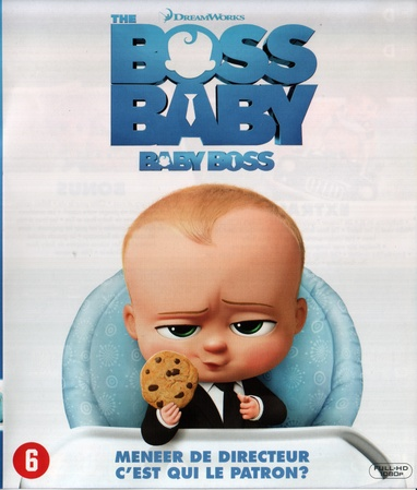 Boss Baby, the cover
