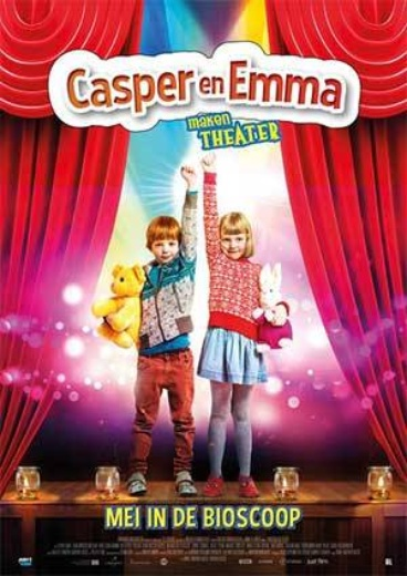 Casper en Emma maken Theater cover