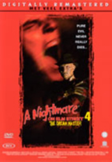 Nightmare on Elmstreet 4, A: The Dream Master cover
