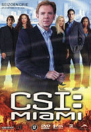 CSI: Miami - Seizoen 3 (Afl. 3.13 - 3.24) cover