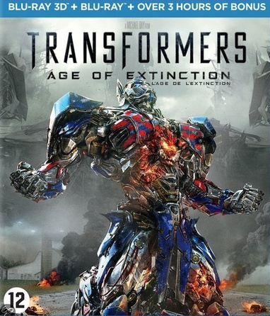 Transformers: Age of Extinction cover