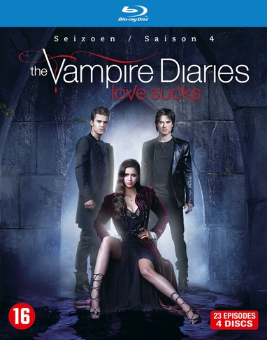 Vampire Diaries, The - Seizoen 4 cover