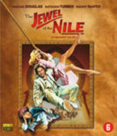 Jewel of the Nile, The cover