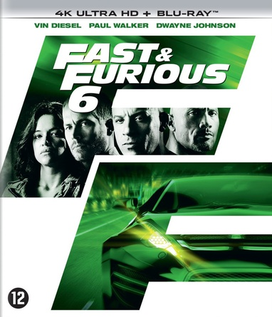Furious 6 / Fast & Furious 6 cover