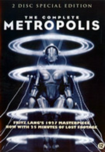 Metropolis - The Complete (SE) cover