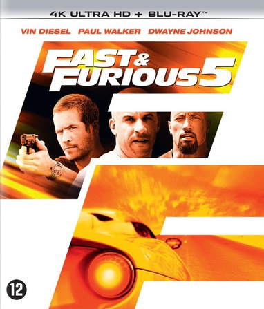 Fast Five / Fast & Furious 5 cover