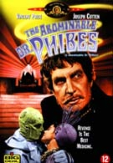 Abominable Dr. Phibes, The cover