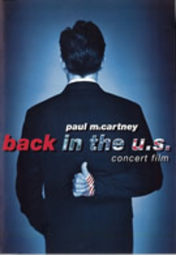 Paul McCartney - Back In The U.S. cover