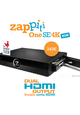 Zappiti One SE 4K HDR - Media Player met Dual HDMI