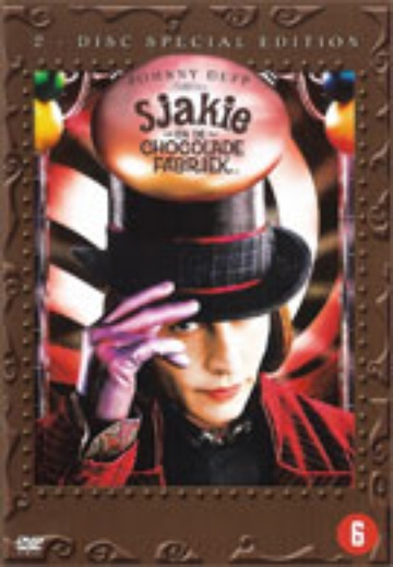 Sjakie en de Chocolade Fabriek / Charlie and the Chocolate Factory (SE) cover