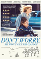 DON'T WORRY HE WON'T GET FAR ON FOOT - de komedie van Gus van Zant nu te koop op DVD