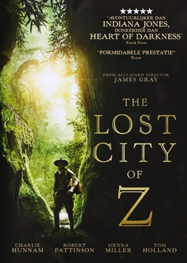 Lost City of Z, The cover