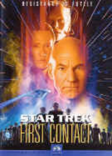Star Trek: First Contact cover