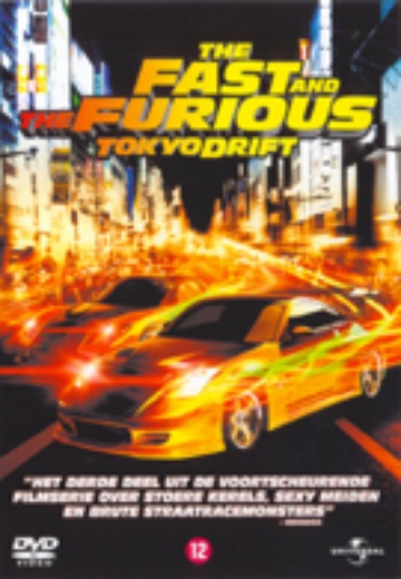 Fast and the Furious, The: Tokyo Drift cover