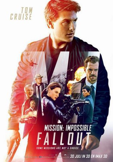 Mission: Impossible - Fallout cover