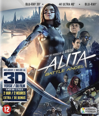 Alita: Battle Angel (UHD/3D/BD) cover