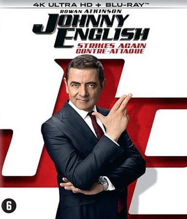 Johnny English Strikes Again cover