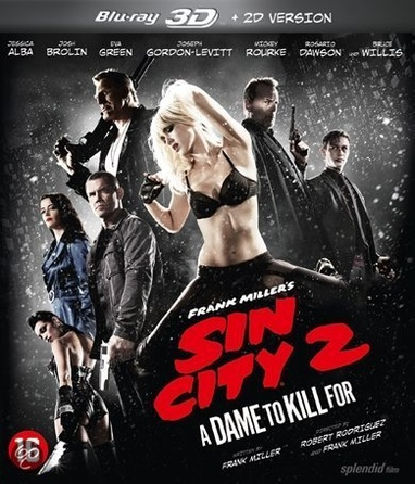 Sin City: A Dame to Kill For cover