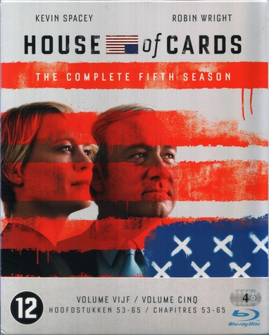 House of Cards - Seizoen 5 cover