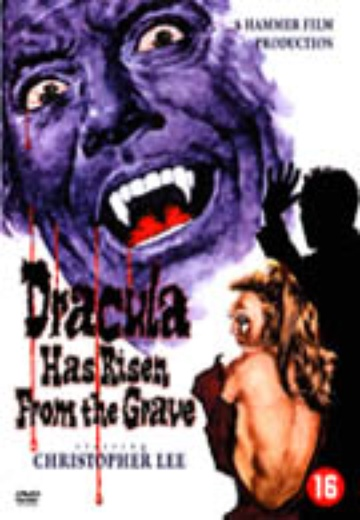 Dracula Has Risen from the Grave cover