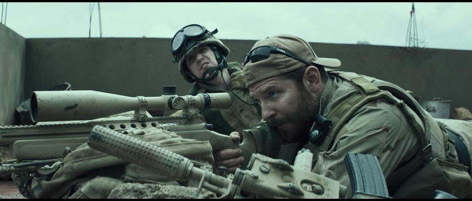 American Sniper (Blu-ray) feature