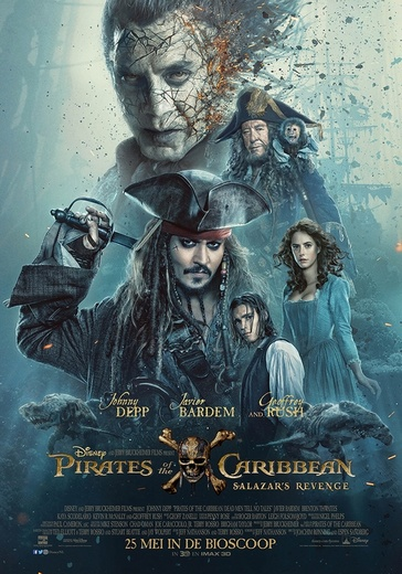 Pirates of the Caribbean: Salazar's Revenge cover