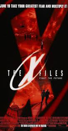 X-Files, The: Fight The Future cover