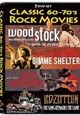 The Classic '60-'70 Rock Movies: 5DVD box: met muziekdocumentaires.