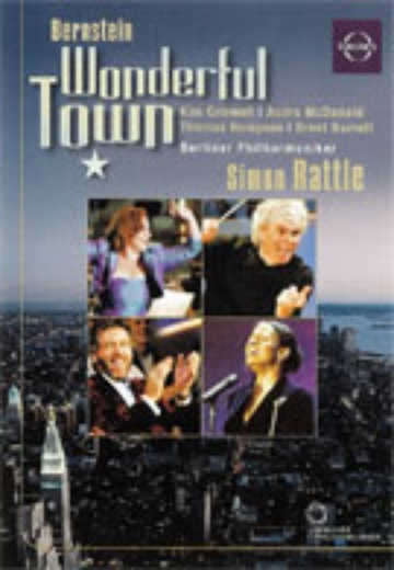 Leonard Bernstein – Wonderful Town cover
