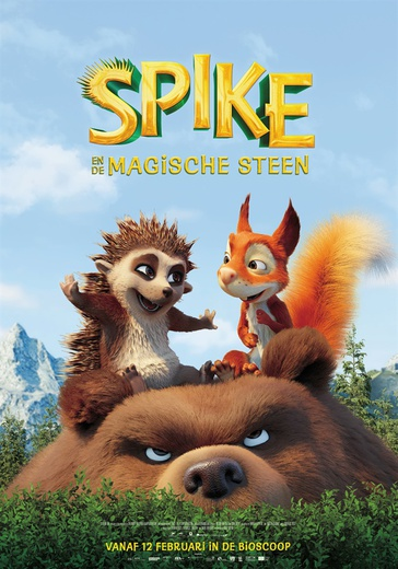 Spike en de Magische Steen cover