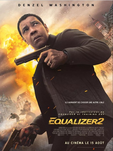 Equalizer 2, the cover