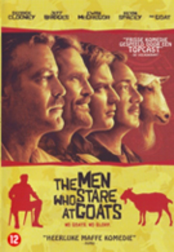 Men Who Stare at Goats, The cover