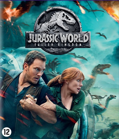 Jurassic World: Fallen Kingdom cover