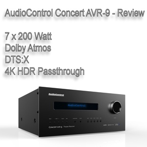 AudioControl Concert AVR-9 - Review