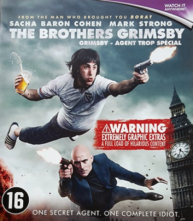 The Brothers Grimsby cover