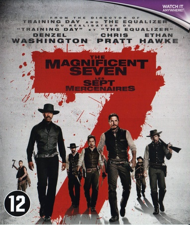 Magnificent Seven, The (2016) cover