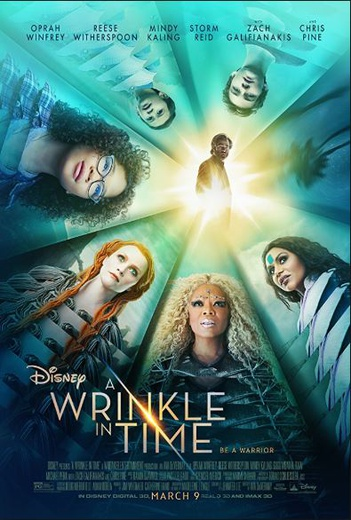 Wrinkle in Time, A (2018) cover