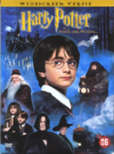Harry Potter en de Steen der Wijzen (Widescreen Editie) cover