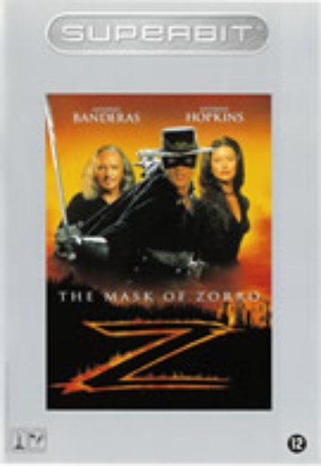 Mask of Zorro, The (Superbit) cover