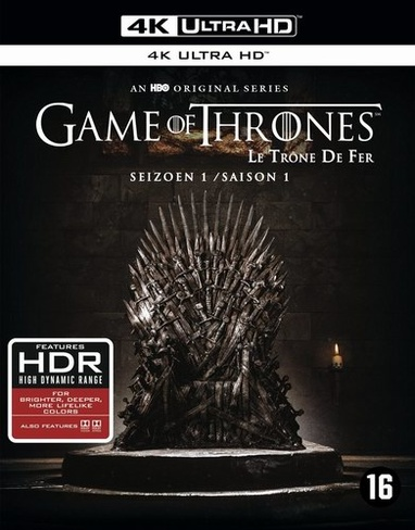 Game of Thrones - Seizoen 1 (UHD BD) cover